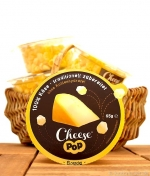 Low Carb Snack, Cheese Pop, 100% Gouda, Gepuffter Käse, 65g