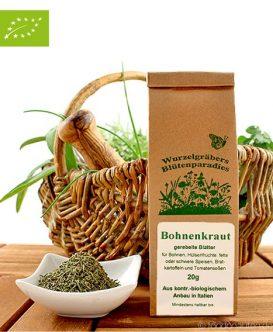 Bio Bohnenkraut (gerebelte Blätter) Wurdies, Kräuter, 20g