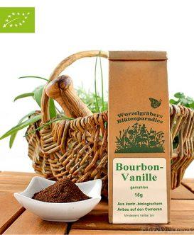 Bio Bourbon-Vanille, gemahlen, 15g