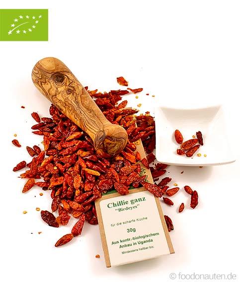 Bio Gewürz Chili (Birdeyes), kbA
