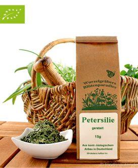 Bio Petersilie (gerebelt), Wurdies, Küchenkräuter, 15g