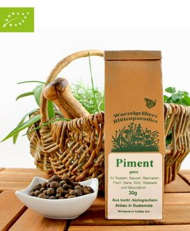 Bio Gewürz Piment (ganz), Wurdies, 30g