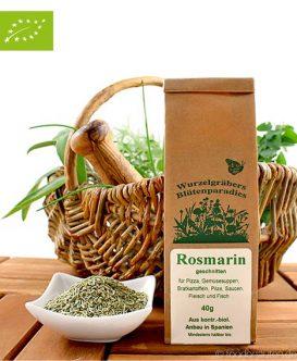 Bio Rosmarin (geschnitten), Wurdies, Küchenkräuter, 40g