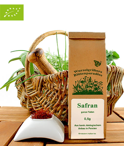 Bio Safran (ganze Fäden), Wurdies, Gewürze