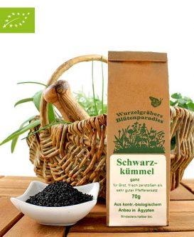 Bio Gewürz Schwarzkümmel, ganz, 70g