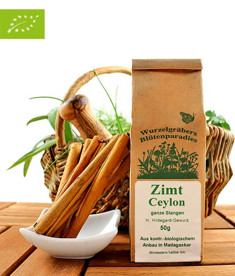 Bio Zimt (Ceylon), ganze Stangen, 50g