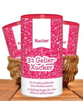 gelier-Xucker, 3:1, Für Fruchtaufstriche ohne Zucker, Xucker, 1kg