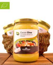 Kokos-Ghee (Cocos Ghee), Bio Butterschmalz und Bio Kokosöl, Cosmoveda, 500ml