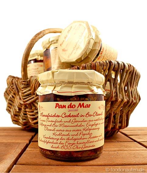 Meeresfrüchte-Cocktail in Bio-Olivenöl, extra nativ, Pan do Mar, 220g