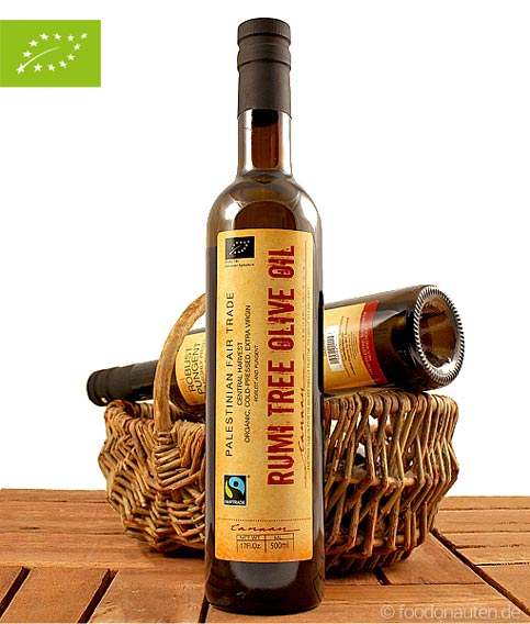 Olivenöl (Canaan / nativ extra), Rumi Tree, 500ml_bio