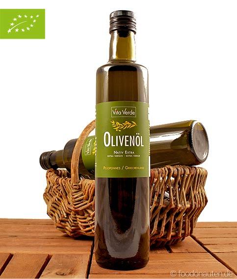 Olivenöl (Griechisch), Koroneiki, nativ extra, 500ml, Bio