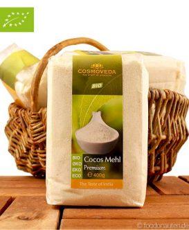 Premium Kokosmehl (Cosmoveda), 400g, Bio
