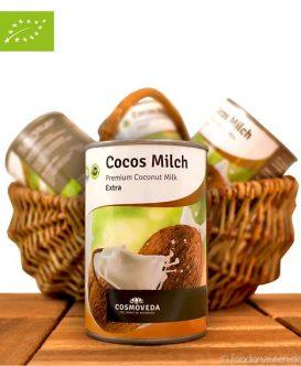 Premium Kokosmilch (Cosmoveda), 400ml, BioPremium Kokosmilch (Cosmoveda), 400ml, Bio