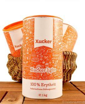 Xucker light (Erythrit), kalorienfreie Süße, Zuckerersatz, 1000g