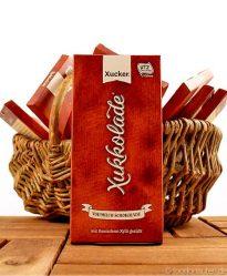 Xukkolade (Vollmilch-Schokolade) mit Xylit gesüßt, Xucker, 100g