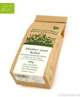 Bio Tee Mutter und Kind (Stilltee), Wurdies