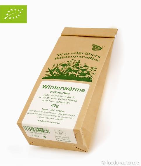 Bio Tee Winterwärme (Kräutertee), Wurdies