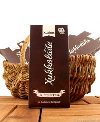 Xukkolade Schokolade (edelbitter), mit Xylit gesüßt, Xucker