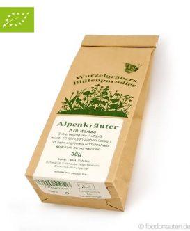 Bio Tee Alpenkräuter, Kräutertee, Wurdies, 30g