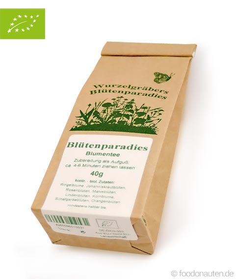 Bio Tee Blütenparadies (Blumentee), Wurdies, 40g