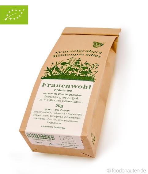 Bio Tee Frauenwohl (Kräutertee), Wurdies
