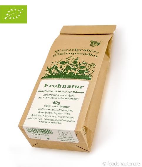 Bio Tee Frohnatur, Wurdies, 50g