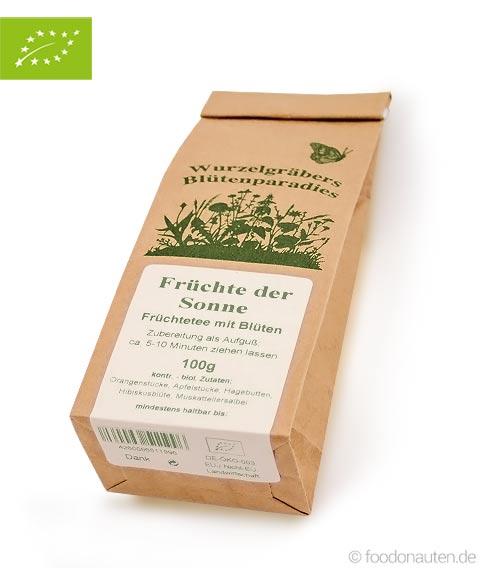 Bio Tee Früchte der Sonne (Früchtetee mit Blüten), Wurdies