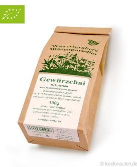 Bio Tee Gewürzchai (Kräutertee), Wurdies