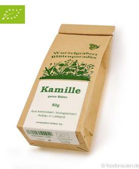 Bio Tee Kamille (ganze Blüten), Wurdies, 50g