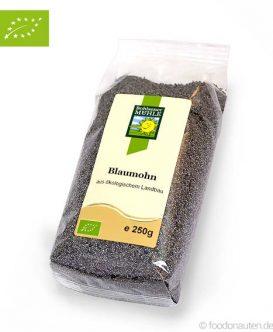Bio Blaumohn (Ökologischer Landbau), Bohlsener Mühle, 250g