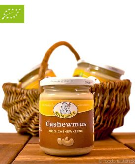 Bio Cashewmus (Nussmus), Eisblümerl, 250g (Vegan und Vegetarisch)