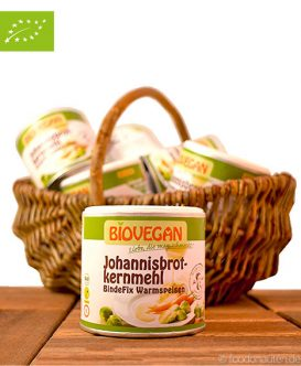 Bio Johannisbrotkernmehl, Bindefix, BioVegan, 100g