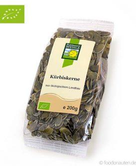 Bio Kürbiskerne (Ökologischer Landbau), Bohlsener Mühle, 200g
