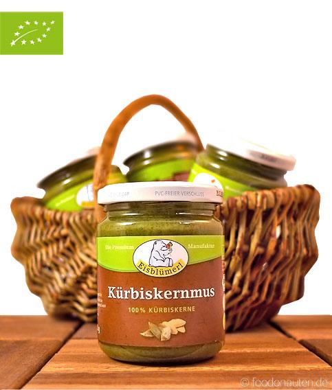 Bio Kürbiskernmus, Eisblümerl, 250g