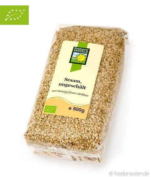 Bio Sesam (ungeschält), Ökologischer Landbau, Bohlsener Mühle