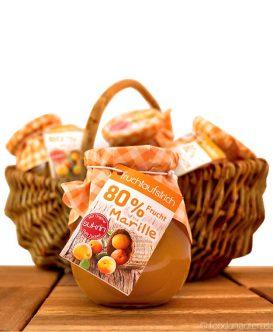 Fruchtaufstrich ohne Zucker Aprikose (Sukrin statt Zucker), 260g