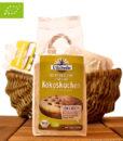 Low Carb Kuchen Backmischung, Kokoskuchen (Glutenfrei & Bio), Erdschwalbe, 220g