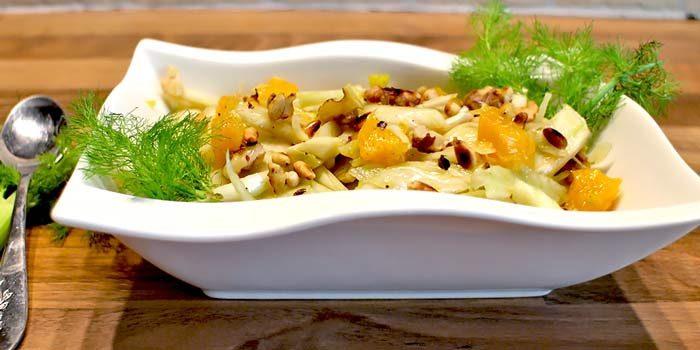Low Carb Rezept | Fenchel-Orangen-Salat