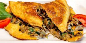 Low Carb Rezept | Champignon-Omelett