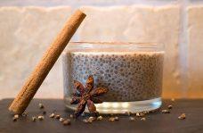 Low Carb Rezept   Chia-Pudding mit Chai-Gewürzen