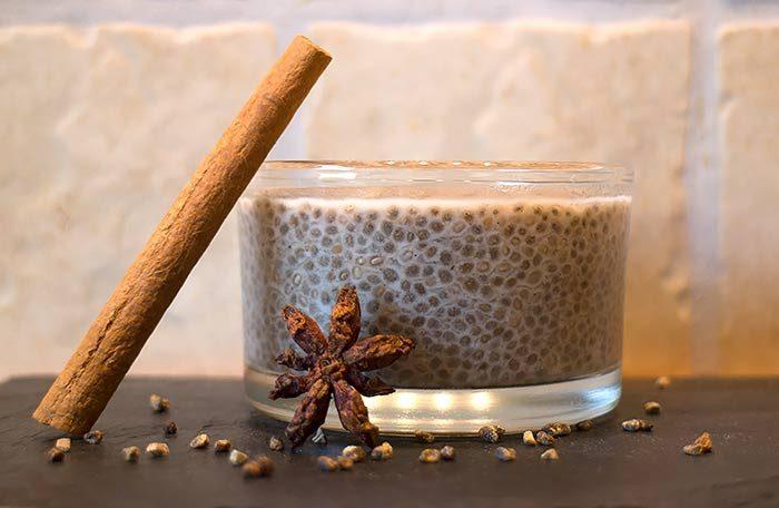 Low Carb Rezept | Chia-Pudding mit Chai-Gewürzen