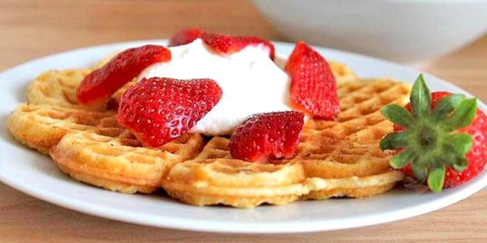 Low Carb Bananenwaffeln