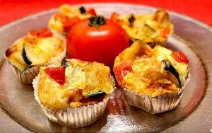 Low Carb Rezept | Herzhafte Gemüse-Muffins