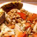 Low Carb Rezept   Kräuter-Fenchel-Tomaten-Salat