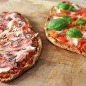 Low Carb Rezept   Low Carb Pizza-Schiffchen