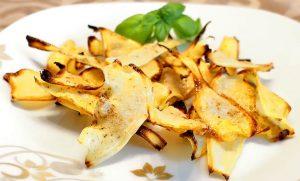 Low Carb Rezept | Petersilienwurzel-Chips