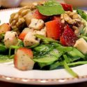 Low Carb Rezept | Portulak-Erdbeer-Salat