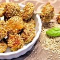 Low Carb Rezept | Sesam-Puten-Häppchen
