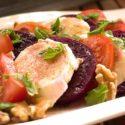 Low Carb Rezept | Tomaten-Rote-Bete-Mozzarella-Salat