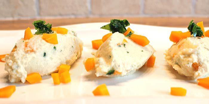 Low Carb Rezept   Sellerie-Karotten-Püree